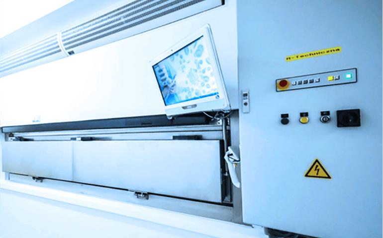 Okno dostępowe do automatycznych mroźni