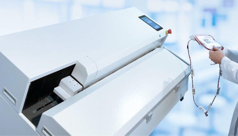 Robot Ter 2.0 pomaga w automatyzacji całego procesu, tak aby zagwarantować brak błędów w etykietowaniu.