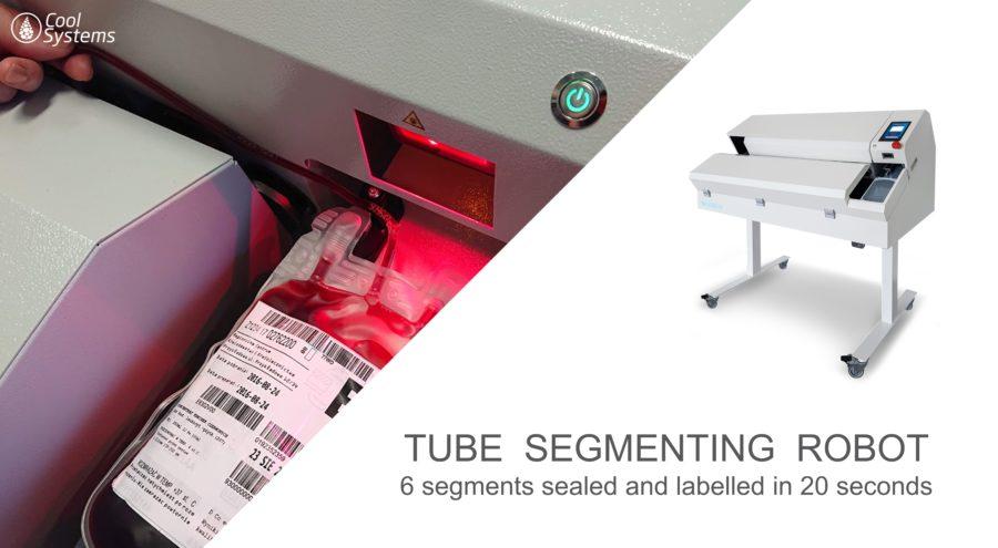 Tube Sealing and Labeling Robot TSR 2.5
