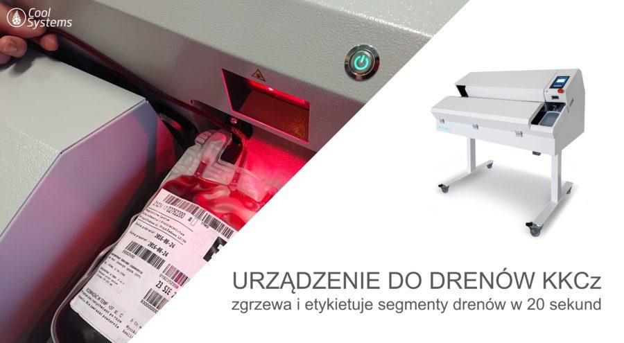 Urządzenie do zgrzewania i etykietowania drenów TSR 2.5